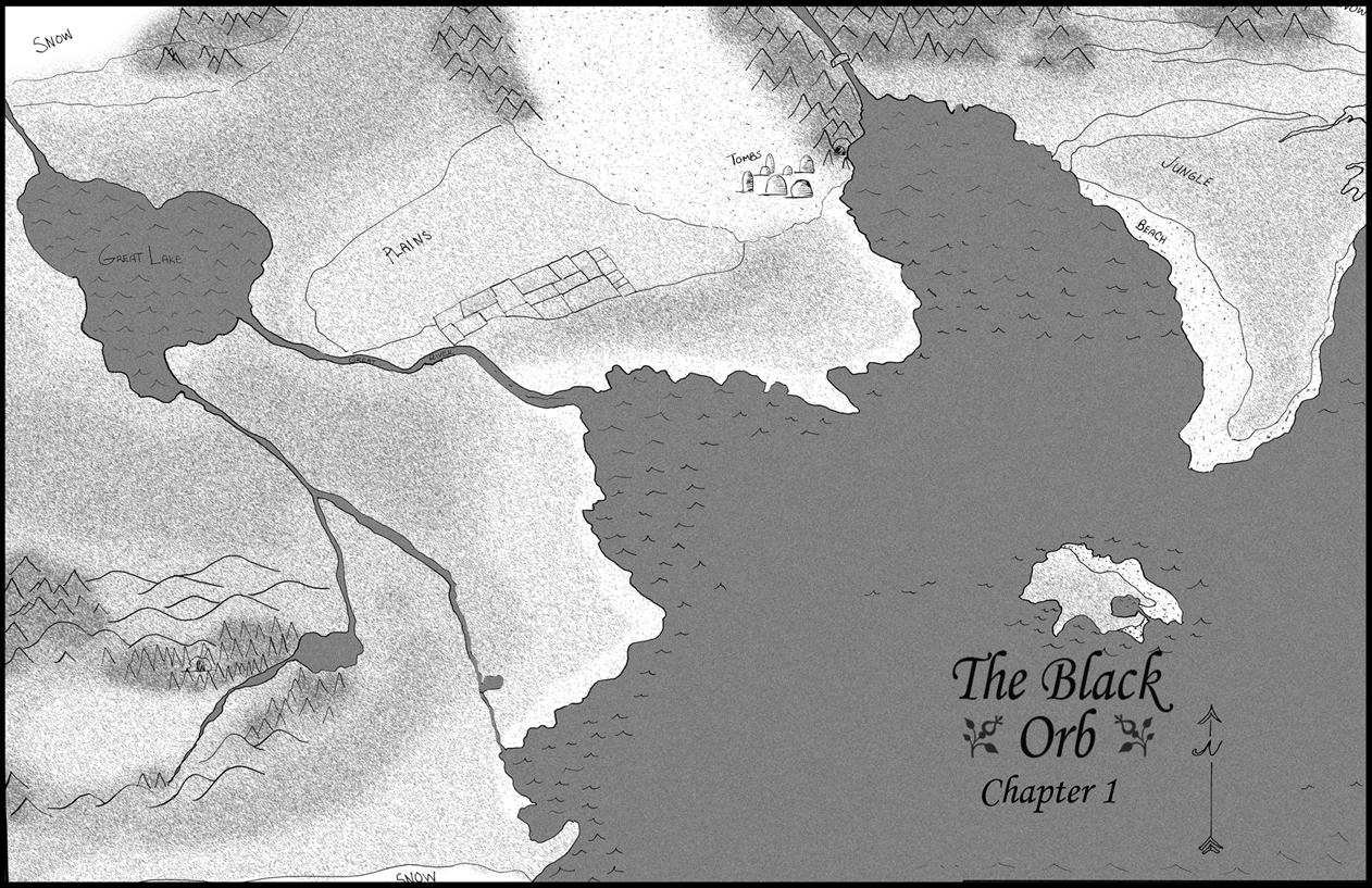 COVER: The Black Orb: Chapter 1