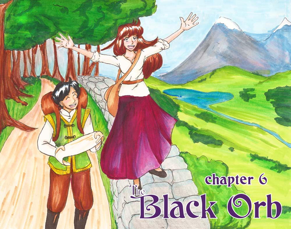 The Black Orb: Chapter 6 - Color