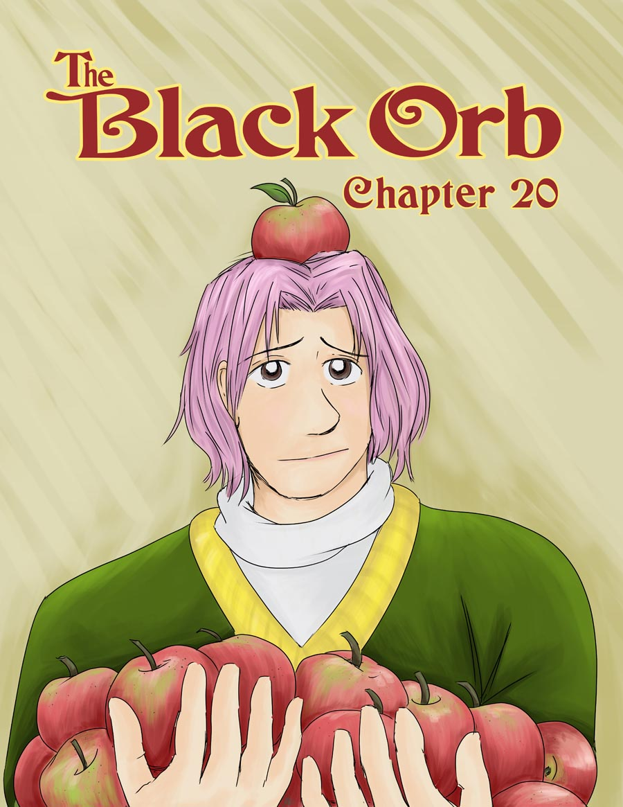 The Black Orb - Chapter 20, Cover