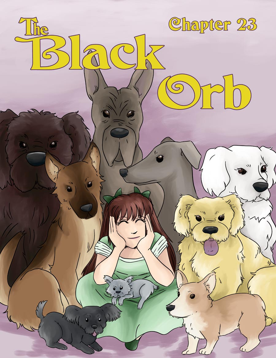 The Black Orb - Chapter 23 - Cover