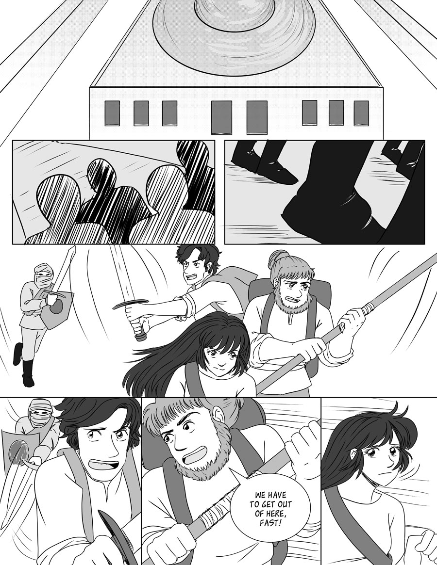 The Black Orb - Chapter 23, Page 1