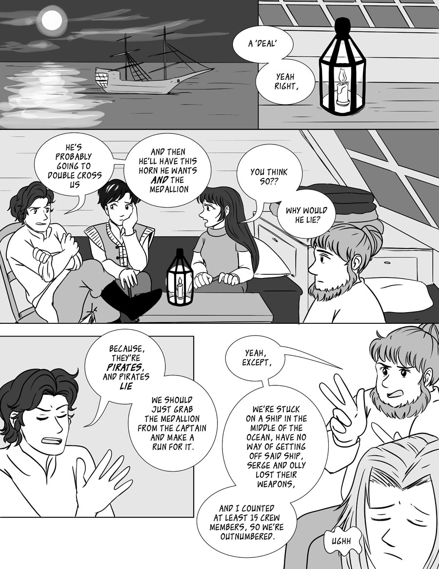 The Black Orb - Chapter 25, Page 1
