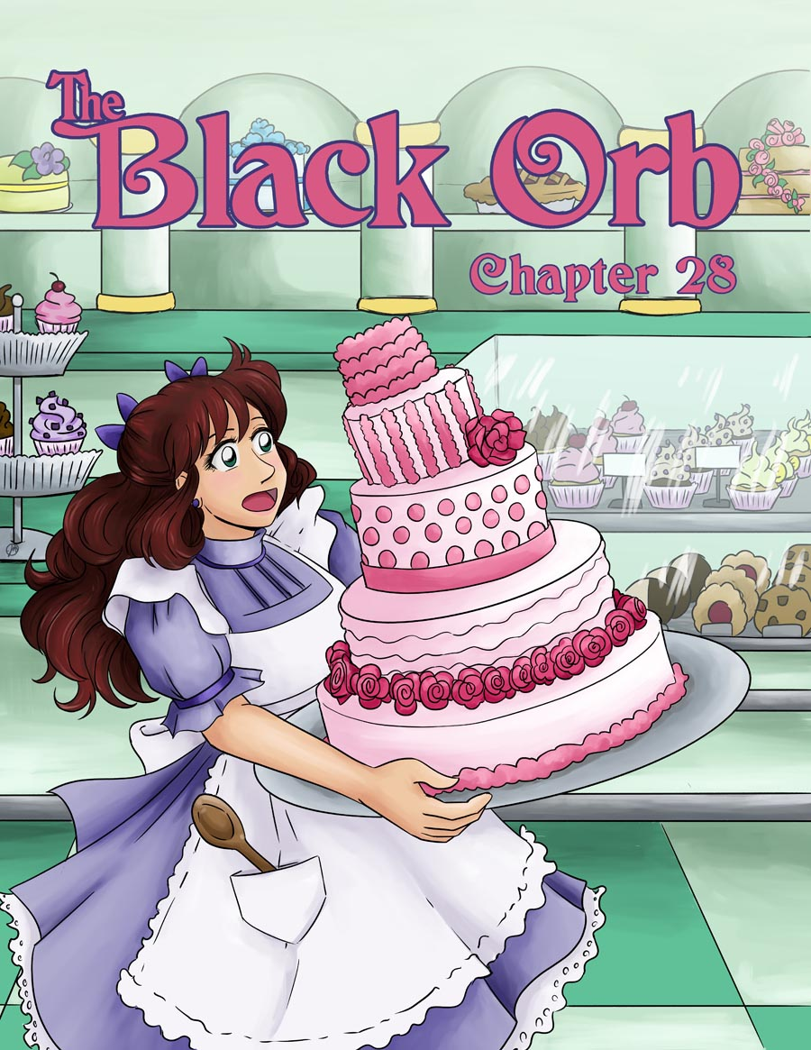 The Black Orb - Chapter 28, COVER